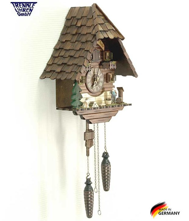 Настенные часы с кукушкой Trenkle_413_q. Страна: Германия (Шварцвальд) купить на triberg.ru