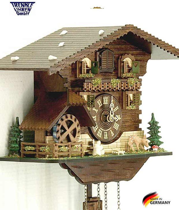 Настенные часы с кукушкой Trenkle_424Q.. Страна: Германия (Шварцвальд) купить на triberg.ru