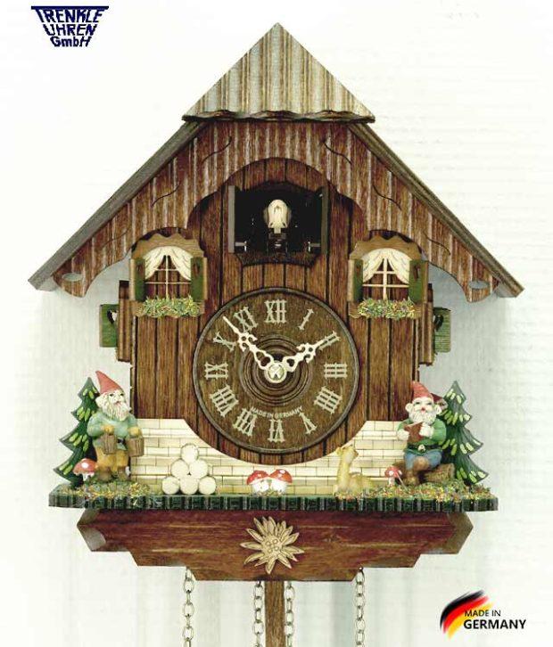Часы с кукушкой Trenkle_433Q.. Страна: Германия (Шварцвальд) купить на triberg.ru