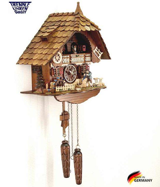 Настенные часы с кукушкой Trenkle_496_qmt.. Страна: Германия (Шварцвальд) купить на triberg.ru