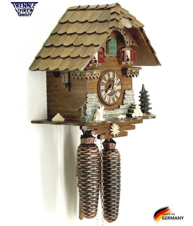 Настенные механический часы с кукушкой Trenkle_8501. Страна: Германия (Шварцвальд) купить на triberg.ru