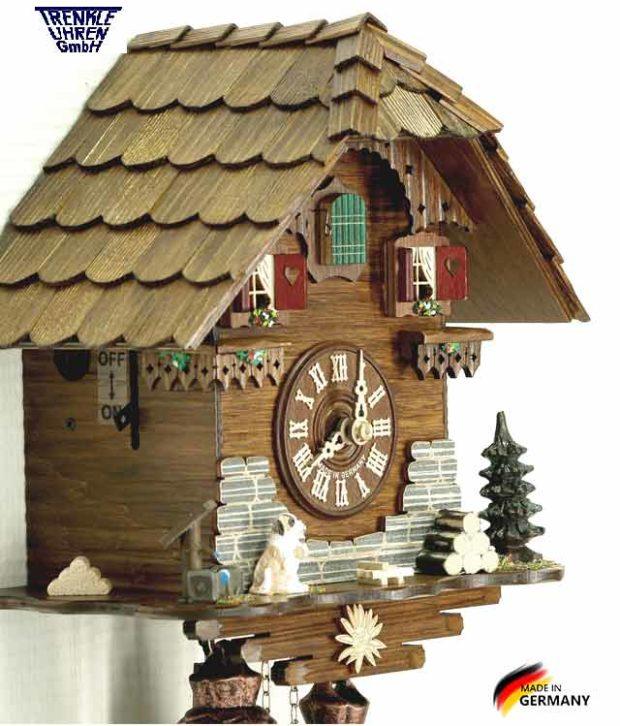 Настенные механический часы с кукушкой Trenkle_8501.. Страна: Германия (Шварцвальд) купить на triberg.ru