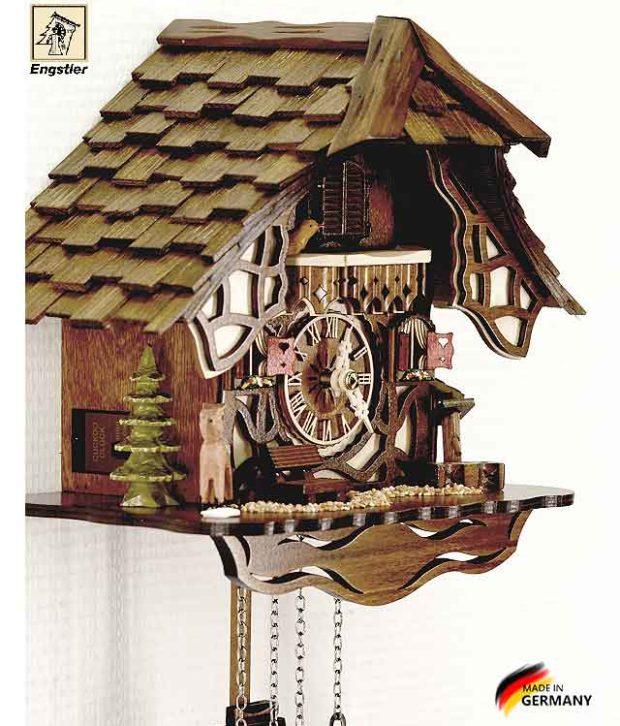 Часы с кукушкой Engstler-416q.. Страна: Германия (Шварцвальд) купить на triberg.ru