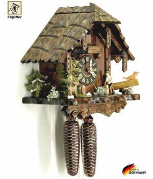 Часы механические с кукушкой Engstler-427-8. Страна: Германия (Шварцвальд) купить на triberg.ru