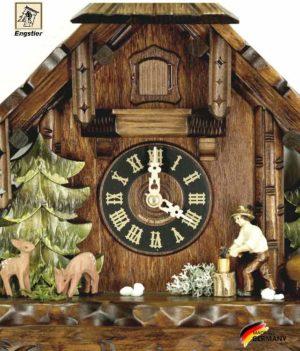 Часы механические с кукушкой Engstler-427-8.. Страна: Германия (Шварцвальд) купить на triberg.ru