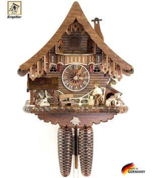 Настенные часы механические с кукушкой Engstler-4791-8 Страна: Германия (Шварцвальд) купить на triberg.ru