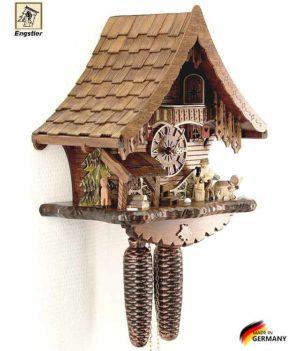 Настенные часы механические с кукушкой Engstler-4791-8. Страна: Германия (Шварцвальд) купить на triberg.ru