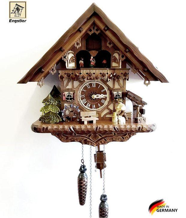Настенные часы с кукушкой Engstler-4691qmt Страна: Германия (Шварцвальд) купить на triberg.ru