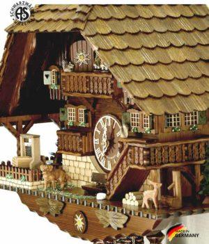 Часы настенные механические с кукушкой Anton_Schneider_8tmt_1070_9.. Страна: Германия (Шварцвальд) купить на triberg.ru