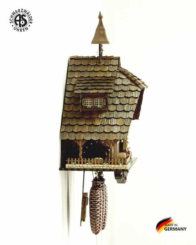 Часы настенные механические с кукушкой Anton_Schneider_8tmt_1070_9... Страна: Германия (Шварцвальд) купить на triberg.ru