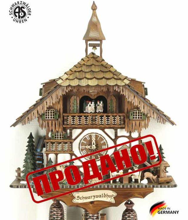 Часы настенные механические с кукушкой Anton_Schneider_8tmt_1565 Страна: Германия (Шварцвальд) купить на triberg.ru