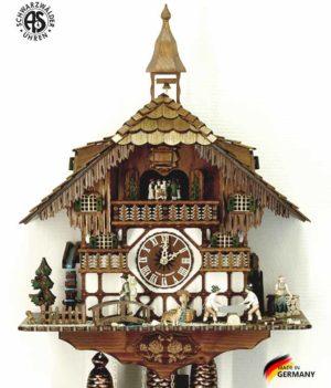Часы настенные механические с кукушкой Anton_Schneider_8tmt_1585_9 Страна: Германия (Шварцвальд) купить на triberg.ru