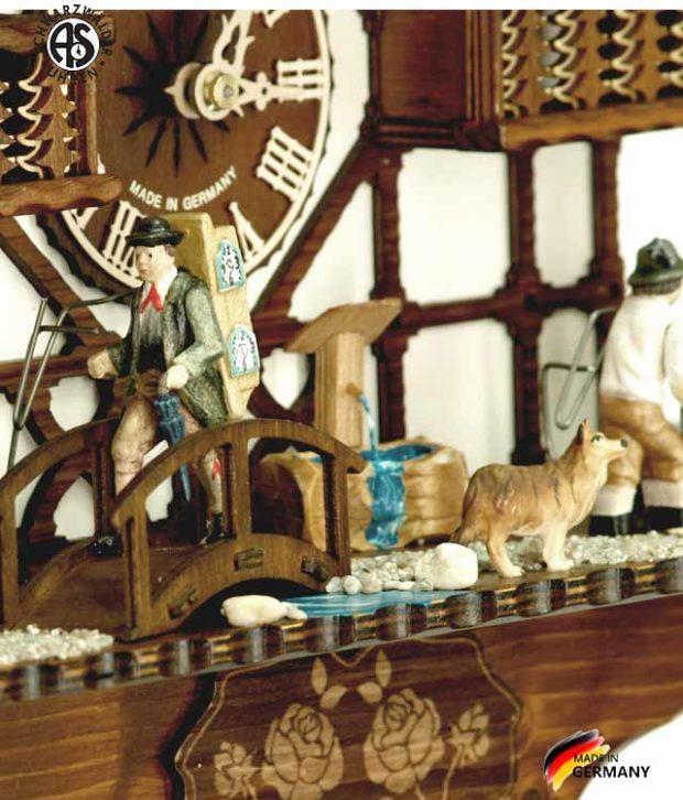 Часы настенные механические с кукушкой Anton_Schneider_8tmt_1585_9.. Страна: Германия (Шварцвальд) купить на triberg.ru