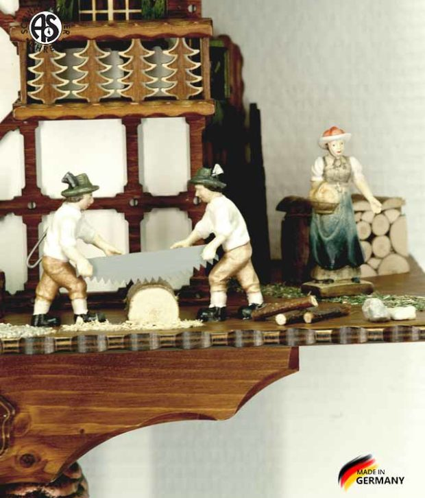 Часы настенные механические с кукушкой Anton_Schneider_8tmt_1585_9... Страна: Германия (Шварцвальд) купить на triberg.ru
