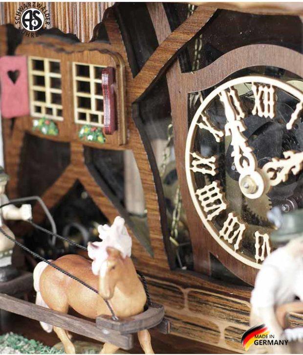 Часы настенные механические с кукушкой Anton_Schneider_8tmt_1595_9.. Страна: Германия (Шварцвальд) купить на triberg.ru