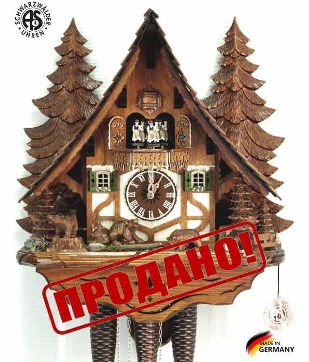 Часы настенные механические с кукушкой Anton_Schneider_8tmt_2653sale Страна: Германия (Шварцвальд) купить на triberg.ru
