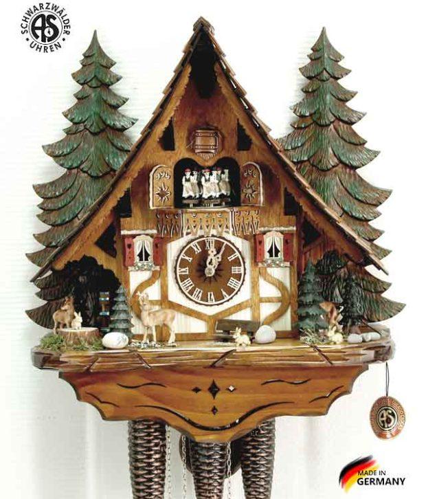Часы настенные механические с кукушкой Anton_Schneider_8tmt_2654_9 Страна: Германия (Шварцвальд) купить на triberg.ru