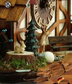 Часы настенные механические с кукушкой Anton_Schneider_8tmt_2654_9.. Страна: Германия (Шварцвальд) купить на triberg.ru