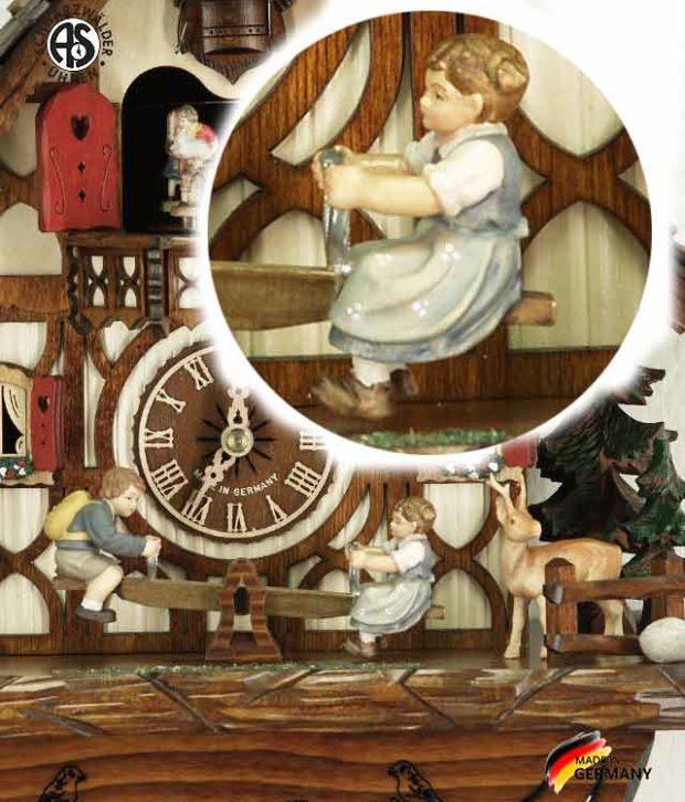 Часы настенные механические с кукушкой Anton_Schneider_8tmt_2683_9.. Страна: Германия (Шварцвальд) купить на triberg.ru