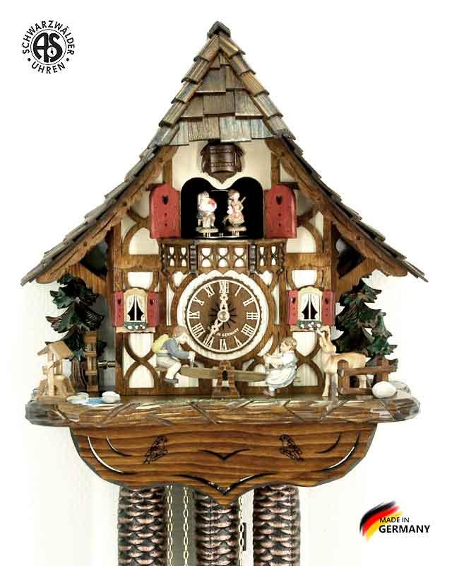 Часы настенные механические с кукушкой Anton_Schneider_8tmt_2683_9 Страна: Германия (Шварцвальд) купить на triberg.ru