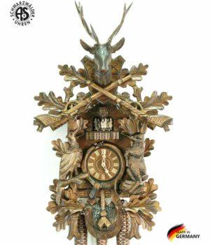 Часы настенные механические с кукушкой Anton_Schneider_8tmt_295_9 Страна: Германия (Шварцвальд) купить на triberg.ru