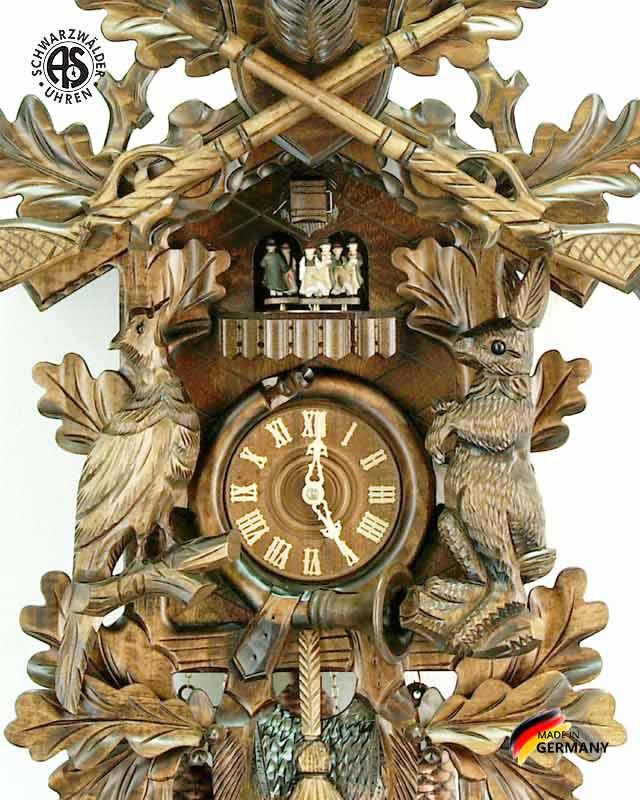 Часы настенные механические с кукушкой Anton_Schneider_8tmt_295_9.. Страна: Германия (Шварцвальд) купить на triberg.ru