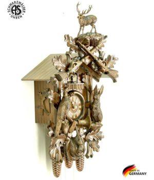 Часы настенные механические с кукушкой Anton_Schneider_8tmt_295q_9. Страна: Германия (Шварцвальд) купить на triberg.ru