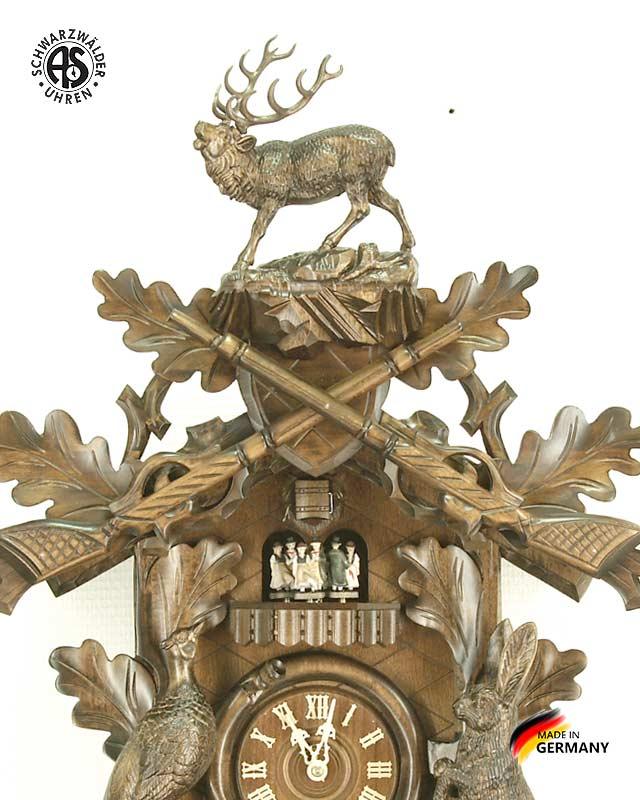 Часы настенные механические с кукушкой Anton_Schneider_8tmt_295q_9.. Страна: Германия (Шварцвальд) купить на triberg.ru