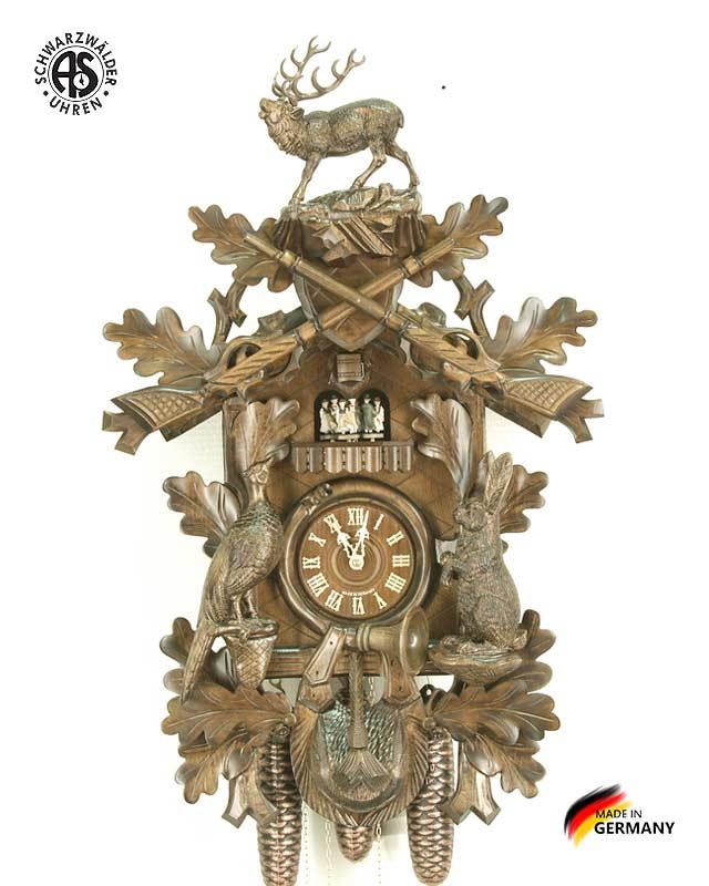 Часы настенные механические с кукушкой Anton_Schneider_8tmt_295q_9 Страна: Германия (Шварцвальд) купить на triberg.ru