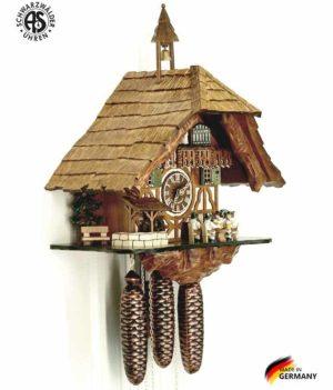 Часы настенные механические с кукушкой Anton_Schneider_8tmt_5523_9. Страна: Германия (Шварцвальд) купить на triberg.ru