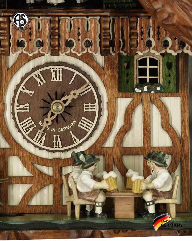 Часы настенные механические с кукушкой Anton_Schneider_8tmt_5523_9.. Страна: Германия (Шварцвальд) купить на triberg.ru