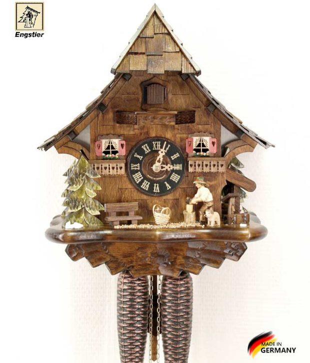 Часы настенные с кукушкой Engstler-4761-8 Страна: Германия (Шварцвальд) купить на triberg.ru