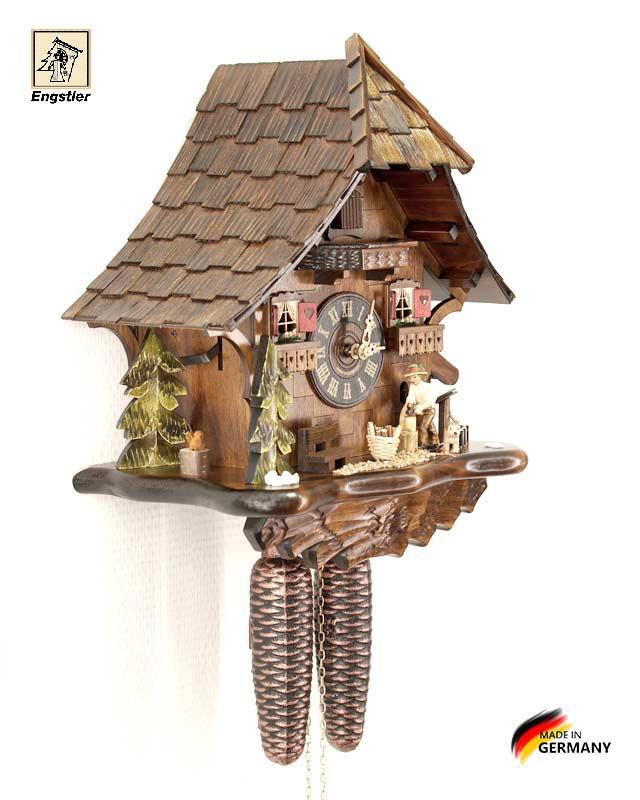 Часы настенные с кукушкой Engstler-4761-8. Страна: Германия (Шварцвальд) купить на triberg.ru