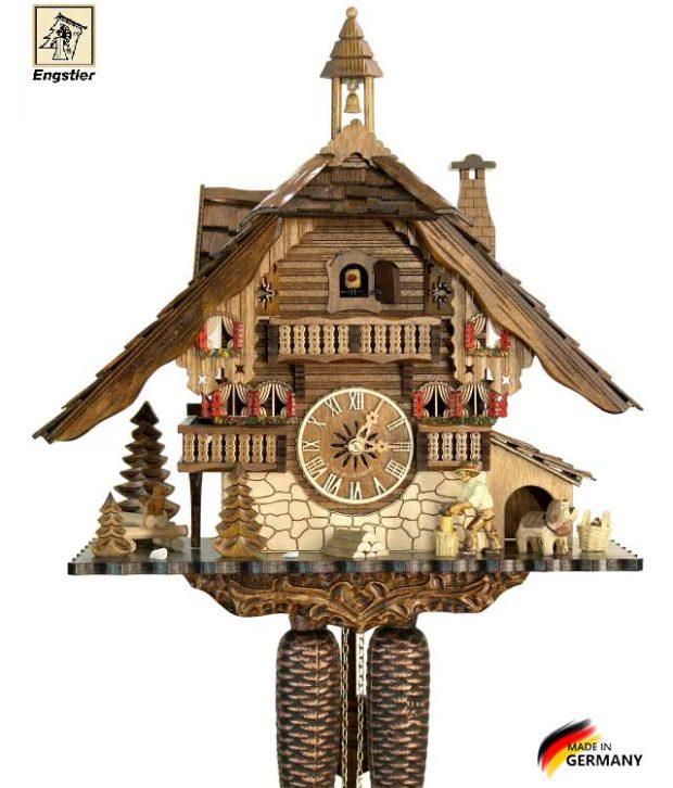 Настенные часы механические с кукушкой Engstler-481-8 Страна: Германия (Шварцвальд) купить на triberg.ru