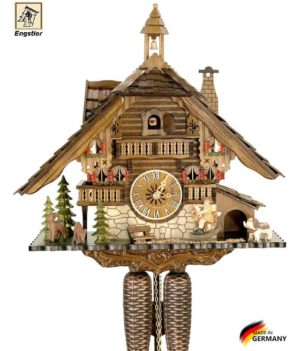 Часы с кукушкой настенные механические Engstler-4815-8 Страна: Германия (Шварцвальд) купить на triberg.ru