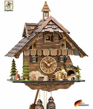 Часы настенные с кукушкой механические Engstler-4831-8 Страна: Германия (Шварцвальд) купить на triberg.ru