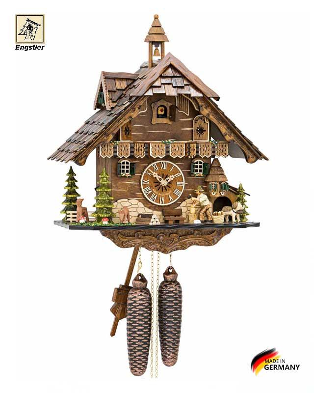 Часы настенные с кукушкой механические Engstler-4831-8. Страна: Германия (Шварцвальд) купить на triberg.ru