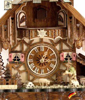 Часы настенные с кукушкой механические Engstler-48712-8.. Страна: Германия (Шварцвальд) купить на triberg.ru