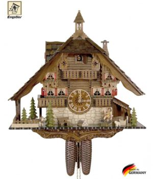 Часы с кукушкой механические Engstler-4895-8 Страна: Германия (Шварцвальд) купить на triberg.ru