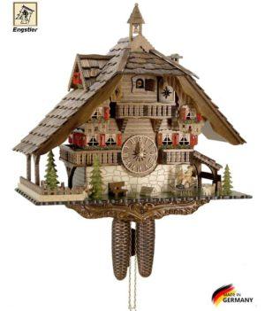Часы с кукушкой механические Engstler-4895-8. Страна: Германия (Шварцвальд) купить на triberg.ru