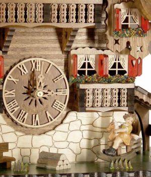 Часы с кукушкой механические Engstler-4895-8_ Страна: Германия (Шварцвальд) купить на triberg.ru