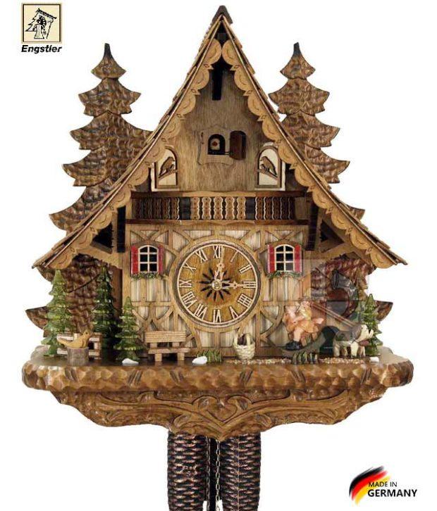 Часы с кукушкой механические Engstler-4995-8 Страна: Германия (Шварцвальд) купить на triberg.ru