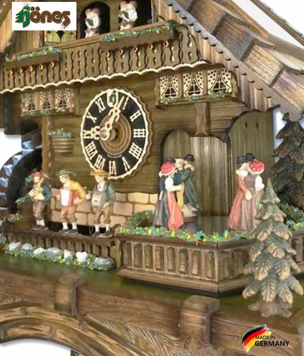 Часы настенные механические с кукушкой Hönes-86200t... Страна: Германия (Шварцвальд) купить на triberg.ru