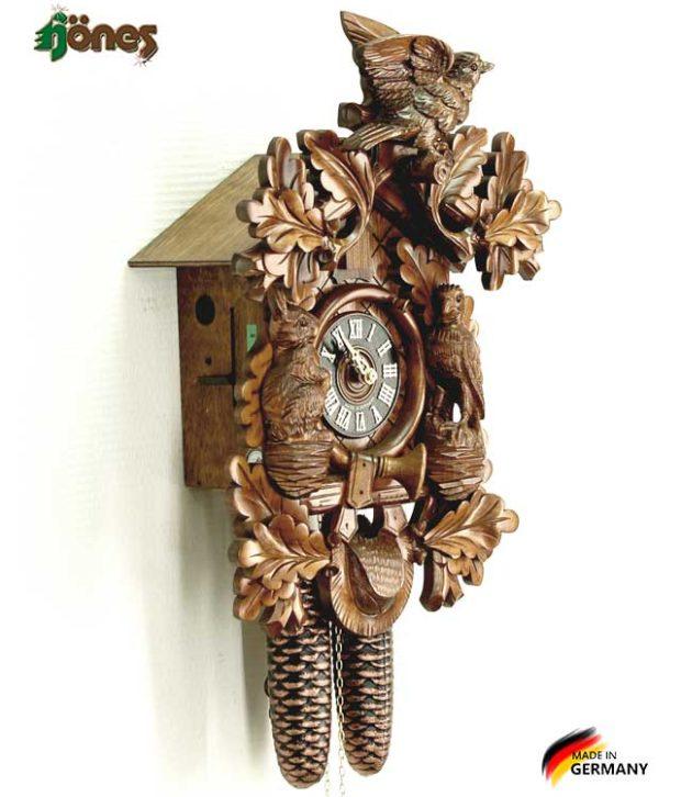 Часы настенные механические с кукушкой Hönes_8277_4nc. Страна: Германия (Шварцвальд) купить на triberg.ru