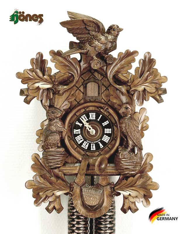 Часы настенные механические с кукушкой Hönes_8277_4nc Страна: Германия (Шварцвальд) купить на triberg.ru