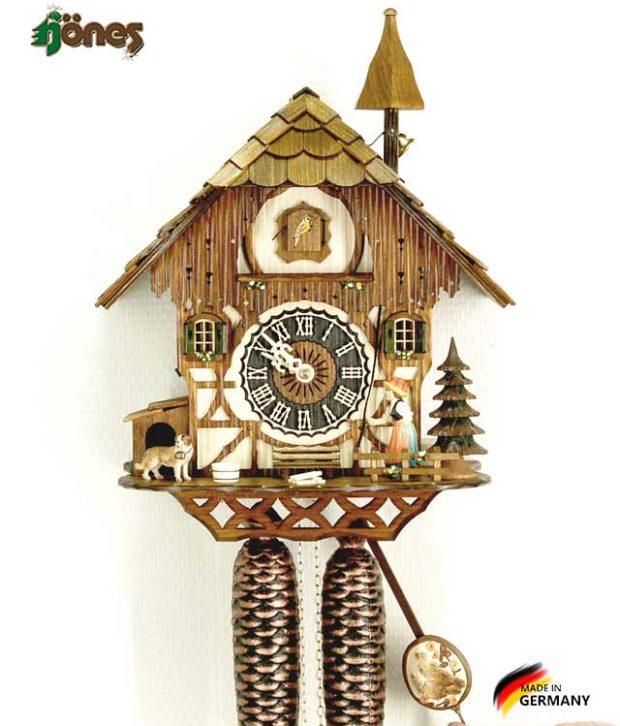 Часы настенные механические с кукушкой Hönes_8294 Страна: Германия (Шварцвальд) купить на triberg.ru