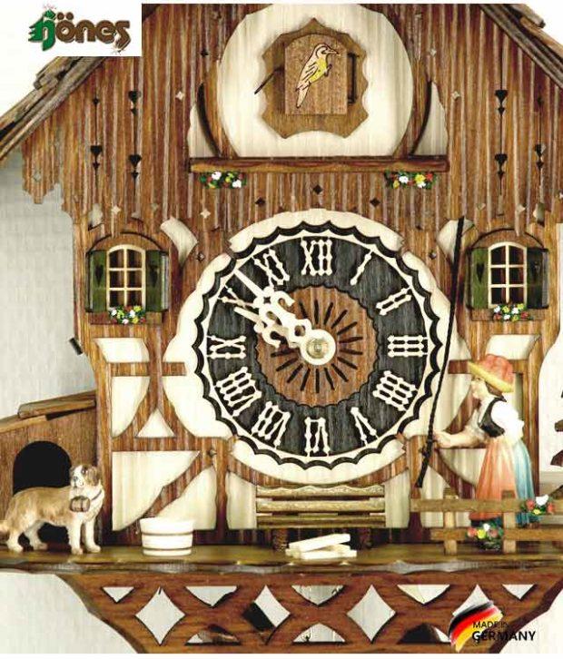 Часы настенные механические с кукушкой Hönes_8294.. Страна: Германия (Шварцвальд) купить на triberg.ru