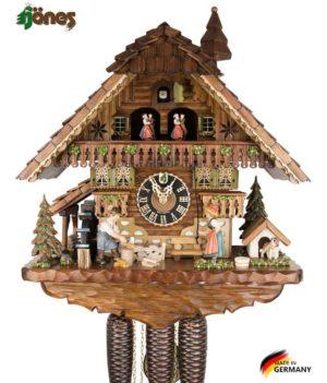 Часы настенные механические с кукушкой Hönes_8621t Страна: Германия (Шварцвальд) купить на triberg.ru