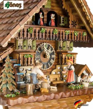 Часы настенные механические с кукушкой Hönes_8621t... Страна: Германия (Шварцвальд) купить на triberg.ru