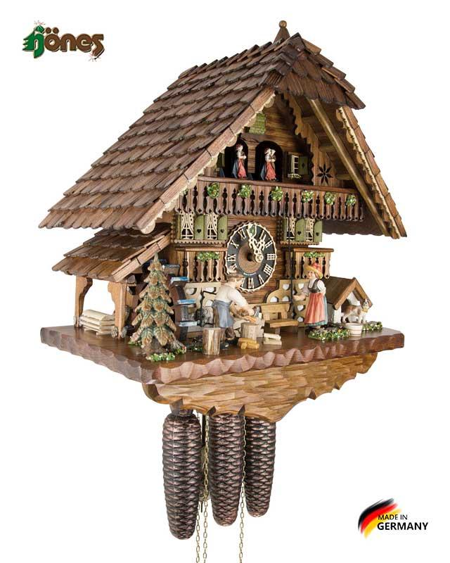 Часы настенные механические с кукушкой Hönes_8621t. Страна: Германия (Шварцвальд) купить на triberg.ru